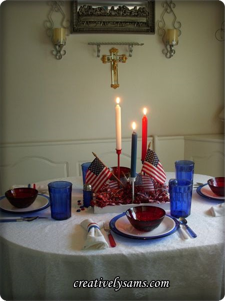 Memorial Day Tablescape