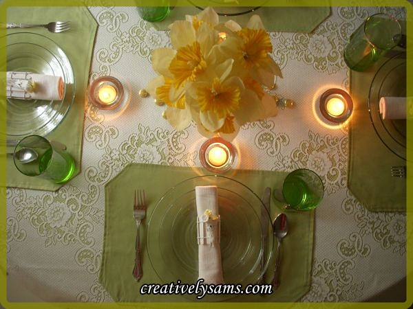 May Day Tablescape