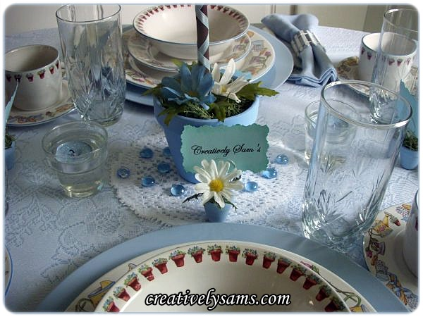 In The Garden Tablescape