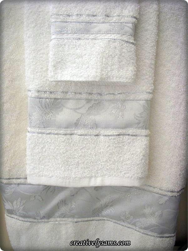 New Bathroom Towels