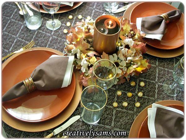 An Autumn Tablescape