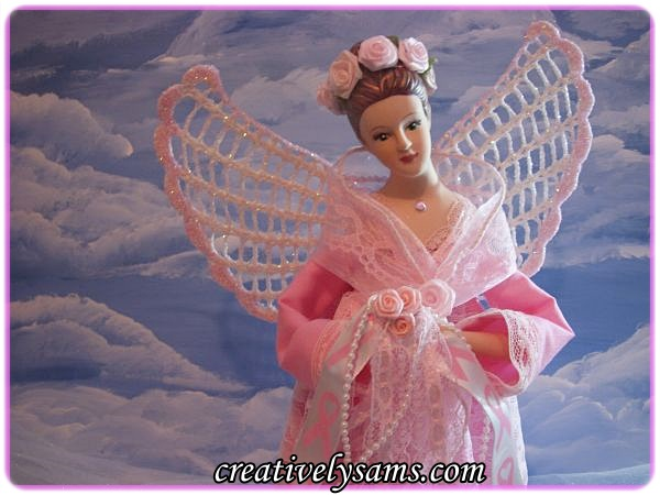 Breast Cancer Awareness Angel