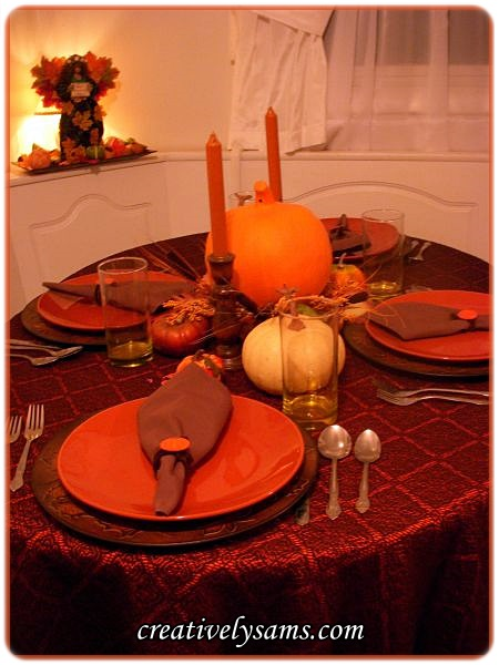 Fall Tablescape - 3 Ways