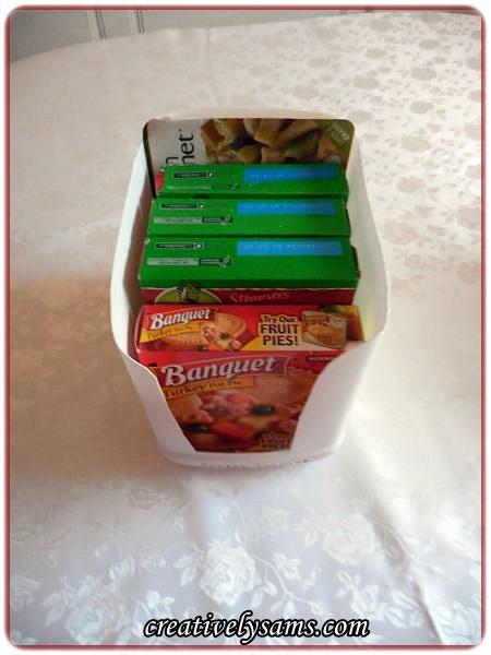 Organizing The Freezer