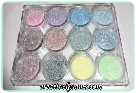 Making Pastel Glitter