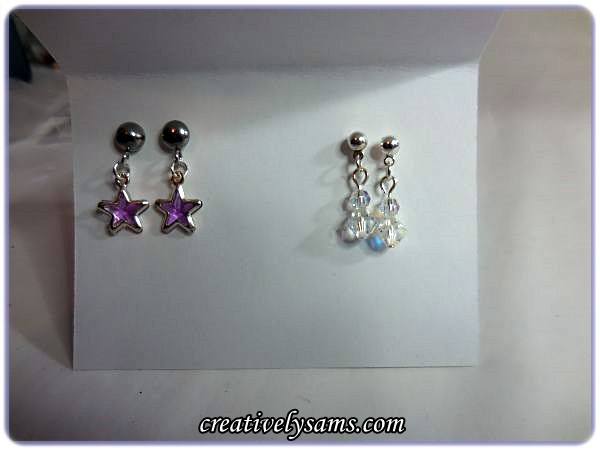 Christmas Picture Earrings