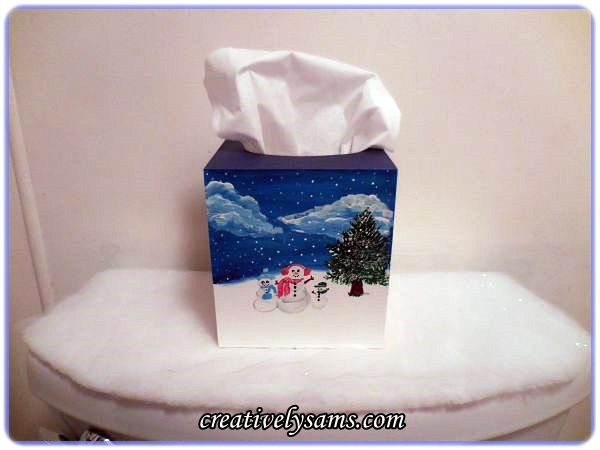 Christmas Tissue Box