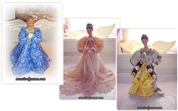 Fabric Stiffened Angel - New Versions