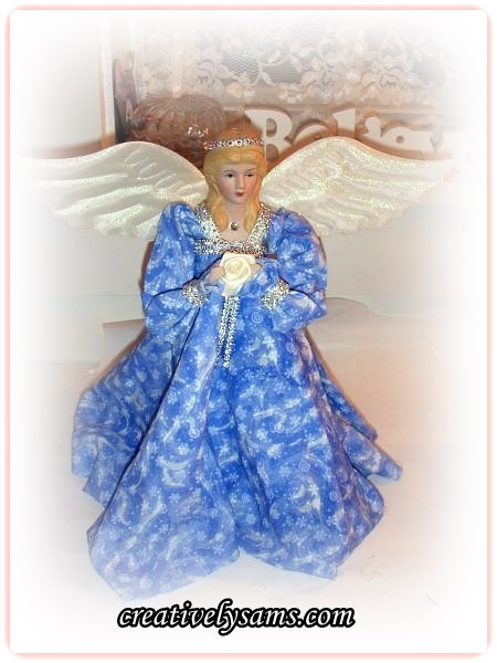 Fabric Stiffened Angel - New Versions