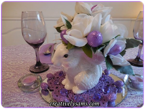 Easter Bunny Centerpiece