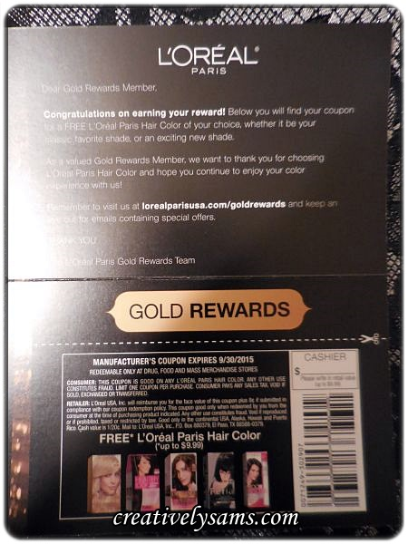 Jun 07,  · L'Oreal Gold Rewards Members (it's FREE to sign up), you can now enter a code from a L'Oréal Paris hair color product for June!!! They have update their website so it will take you a few more minutes to enter the codes.