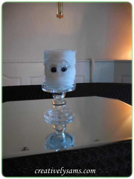 Mummy Candle Holder