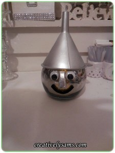 Tin Man Candle Holder