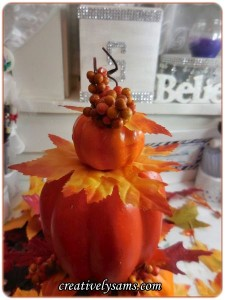 Pumpkin Topiary