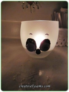 Ghost Candle Holders