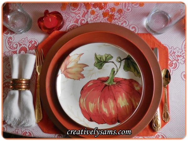 Pumpkin Tablescape