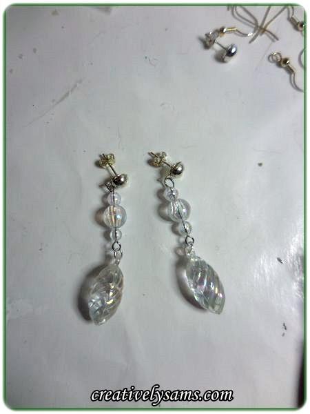 Christmas Ornament Earrings