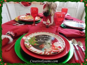 Cookies For Santa Tablescape