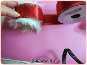 Santa Belt Napkin Rings