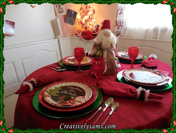Santa Tablescape