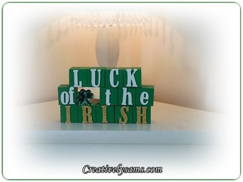 Luck of the Irish Sign