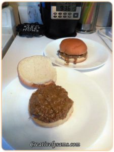 Cheese Sloppy Joes