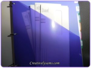 Filing With Binders - Household