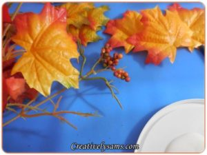 Dollar Tree Fall Vignette