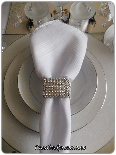 Bling Napkin Rings