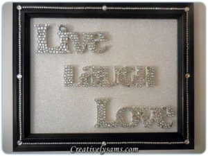 Live, Laugh, Love - Wall Hanging