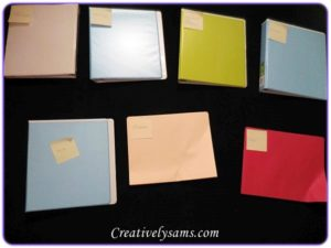 Filing With Binders - Product Warranties